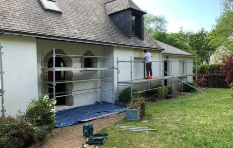 Nettoyage toiture et ravalement Verneuil-sur-Seine 78480