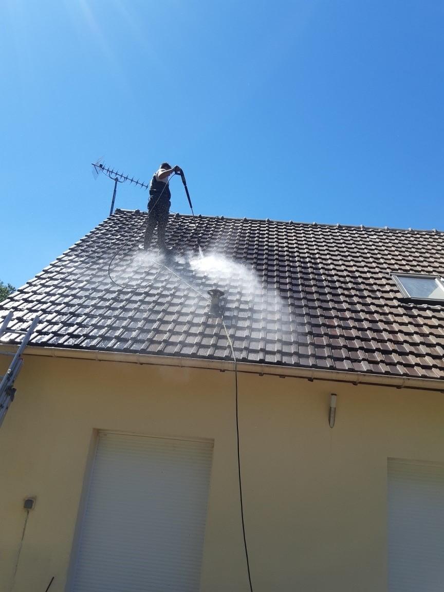 Nettoyage toiture Vernouillet 78540