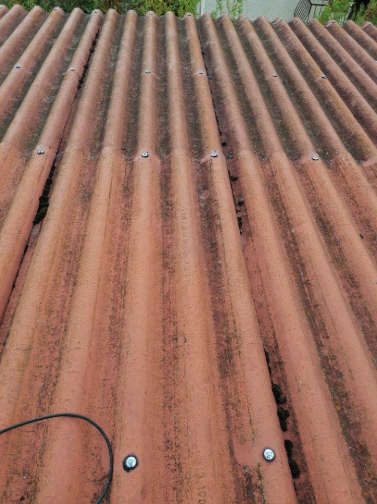 Rénovation toiture fibrociment Verneuil-sur-Seine 78480 - ARTISAN BOUDET 78