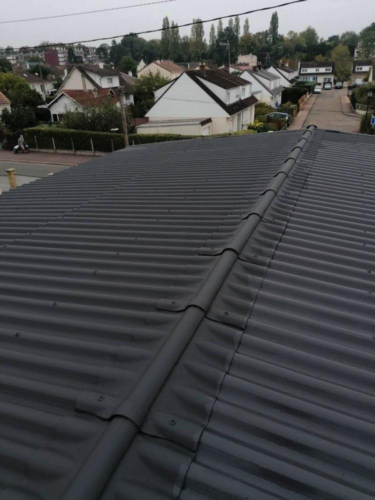 Rénovation toiture fibrociment Verneuil-sur-Seine 78480