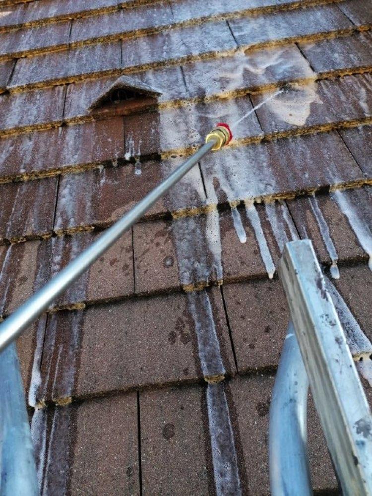 Nettoyage toiture par pulvérisation Vernouillet 78540