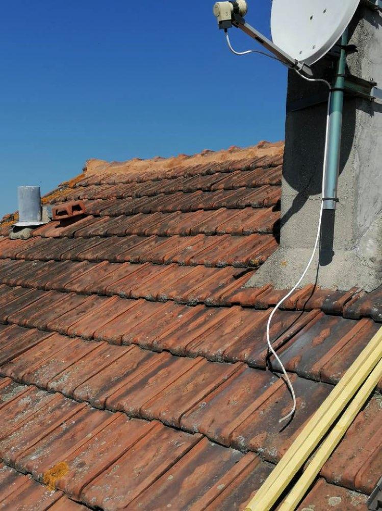 Rénovation toiture et cheminée Vernouillet 78