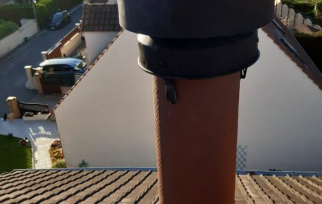 Remplacement mitron cheminée Vernouillet 78540